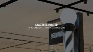 SWAGGER BARBERSHOP for MEN'S WEEK 2015@Shinsegae Department Store