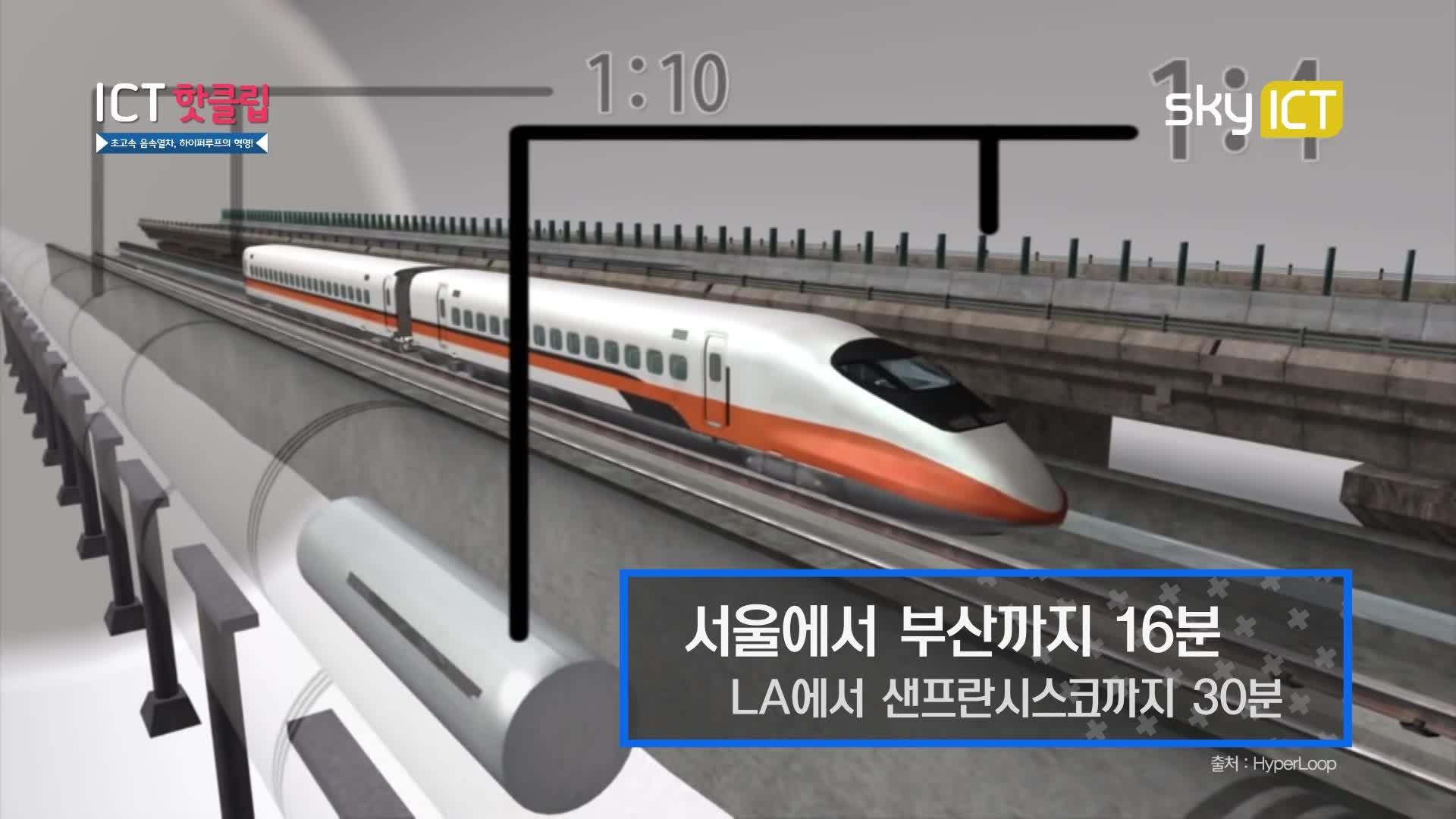 초고속운송열차, 하이퍼루프의 혁명!_ICT 핫클립