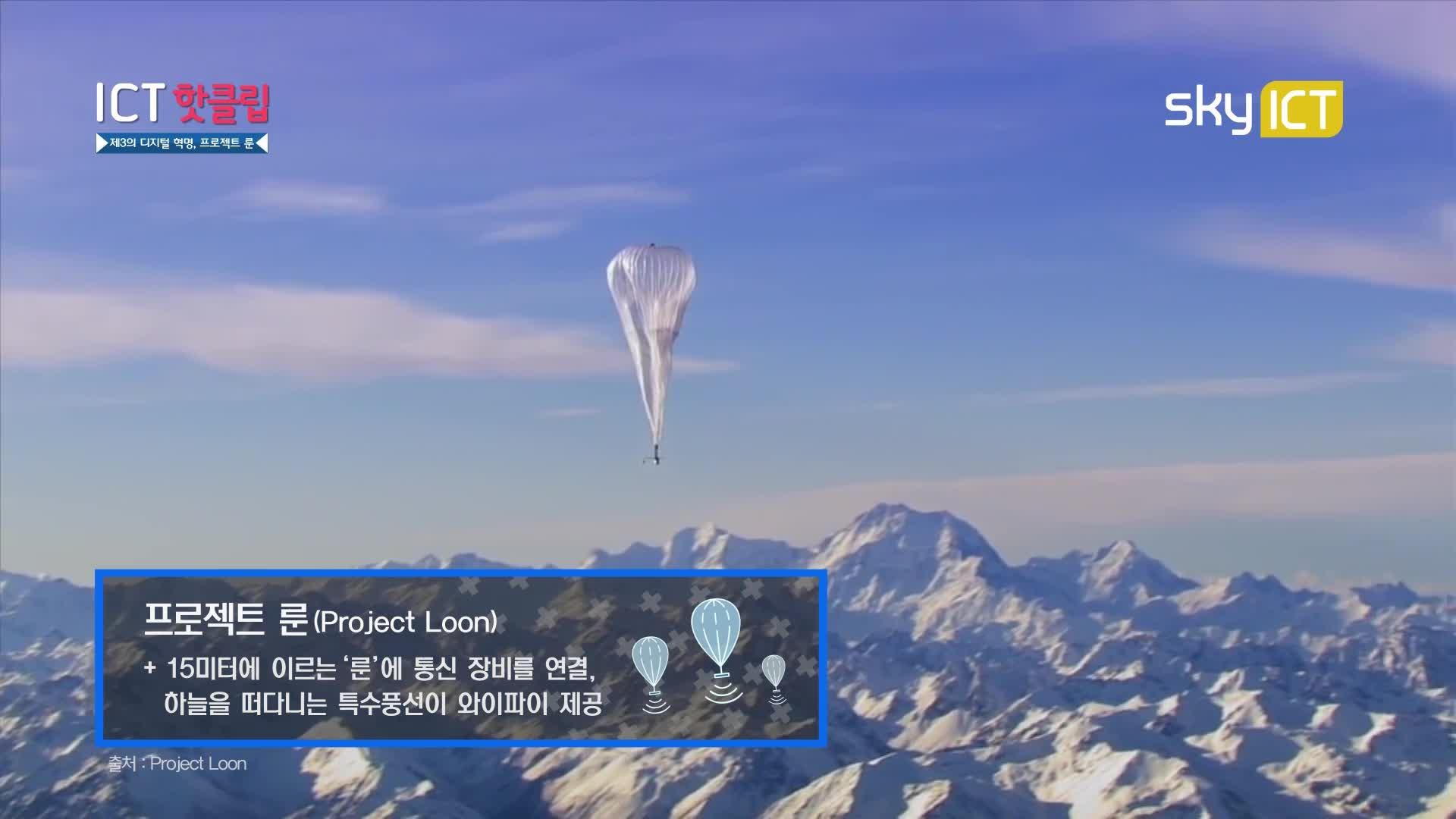 제 3의 디지털 혁명, 프로젝트 룬_ICT 핫클립