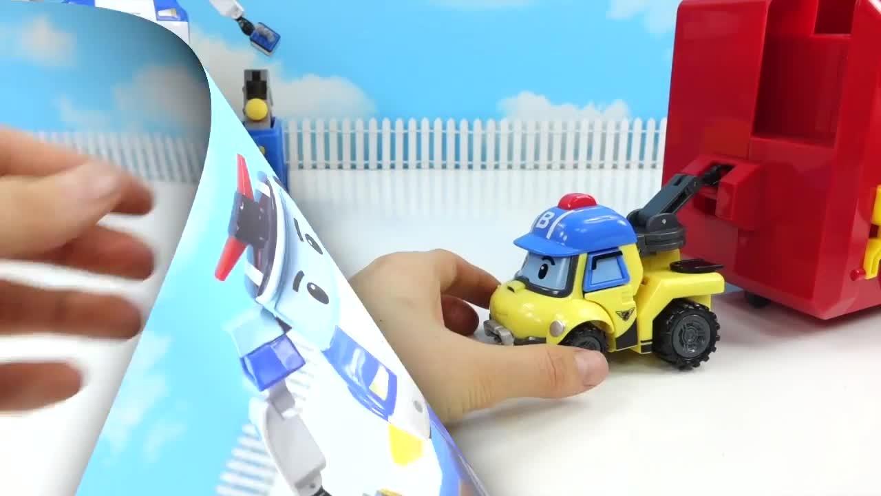 로보카폴리 구조본부에 지네가 나타났다 폴리 로이 변신기지 출동해줘! 버키 도와줘-뽀로로 장난감 애니 by 토이튜브TV Robocar Poli Toy Animation
