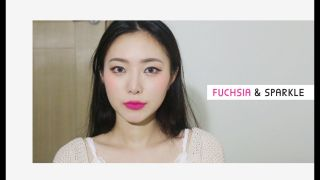 푸시아 & 스파클 메이크업 FUCHSIA & SPARKLE MAKEUP Coco Riley...