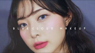 [ENG CC] Blue Cloud Makeup For Summer 푸른 구름 메이크업 +...
