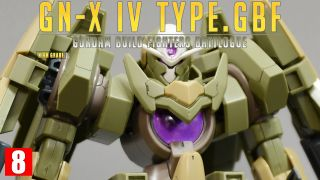 [REVIEW 2.0] HGBF 1/144 징크스 4 TYPE.GBF / GN-X IV TYPE.GBF