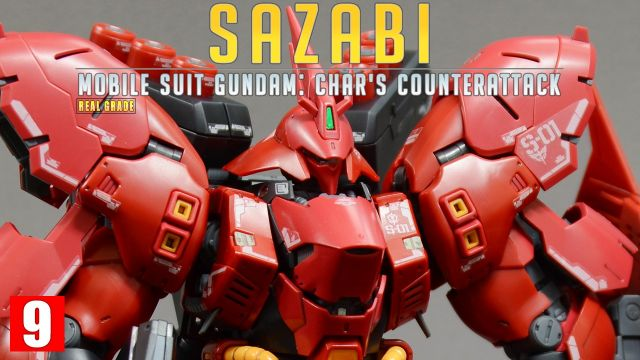 [REVIEW 2.0] RG 1/144 MSN-04 사자비 / SAZABI