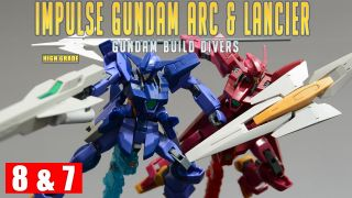 [REVIEW 2.0] HGBD 1/144 임펄스 건담 아크 & 란시에 / Impulse Gundam Arc & Lancier