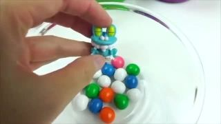 Learn Colors Numbers Ice Cream Surprise Eggs Toys Bubble Gums Ball Avengers Hulk ABC Robot StarWars