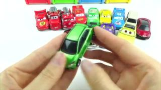 Learn Colors Cars 3 Toy Disney Pixar Lightning McQueen car Ice Cream Cup Surprise Toy Egg Foam