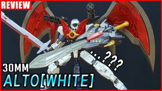 [REVIEW] 30MINUTES MISSIONS 1/144 알토[화이트] / ALTO [WHITE]