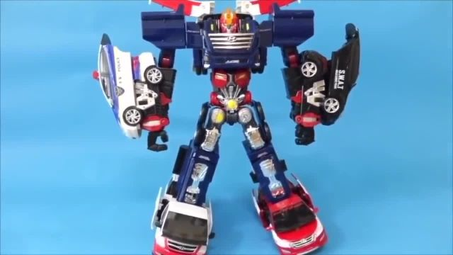 헬로카봇 Car Transformation Robot Hello Carbot Tobot 3