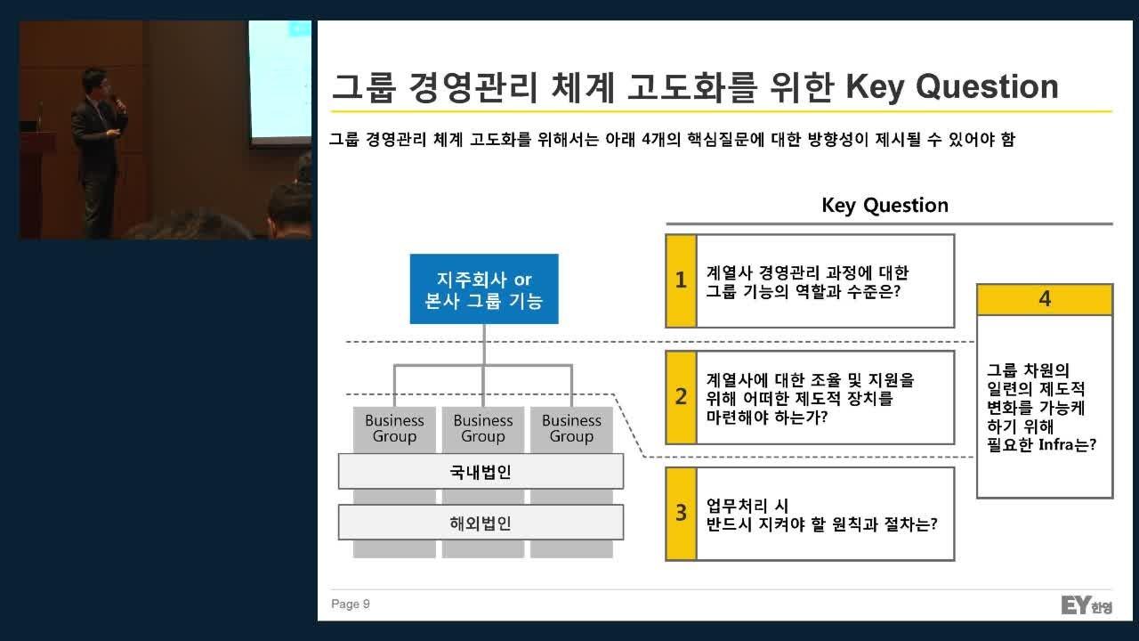 1_재무 기능의 변화와 트렌드(EY한영회계법인 전상훈 전무)